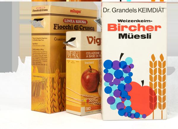 Cereali in grano e da colazione